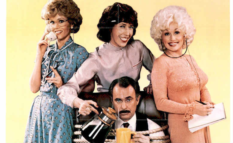 Jane Fonda, Lily Tomlin & Dolly Parton starring in 1980 film, '9 to 5'
