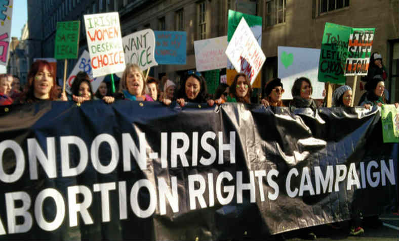 London Irish Abortion Rights Campaign. Photo: Public Domain