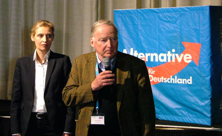 Alice Weidel and Alexander Gauland. Photo: Wikimedia Commons