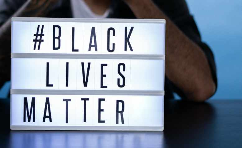 Black Lives Matter graphic