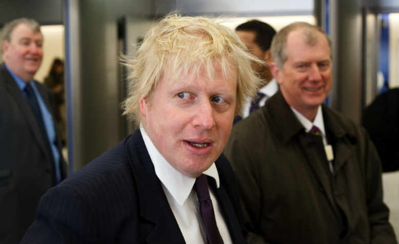 Boris Johnson in 2012