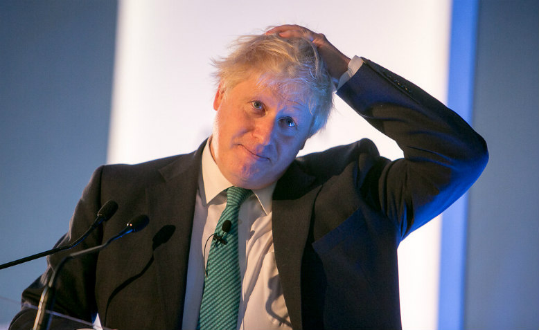 Boris Johnson at Chatham House conference, October 2017. Photo: Chatham House via Flickr