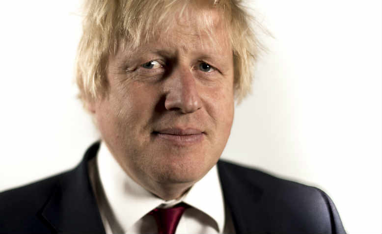 Boris Johnson in 2016