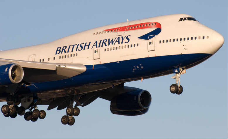 British Airways 747-400 landing at Toronto-Pearson in 2007. Photo: Flickr/ BriYYZ
