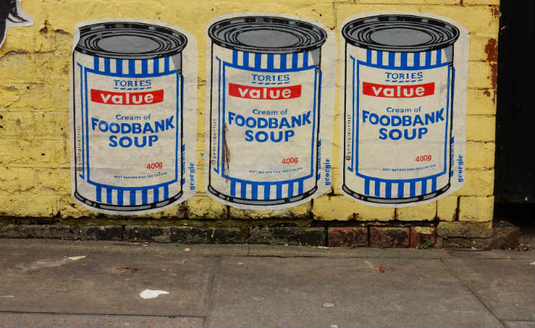 Cream of Foodbank Soup by Georgie, 2017, Shoreditch