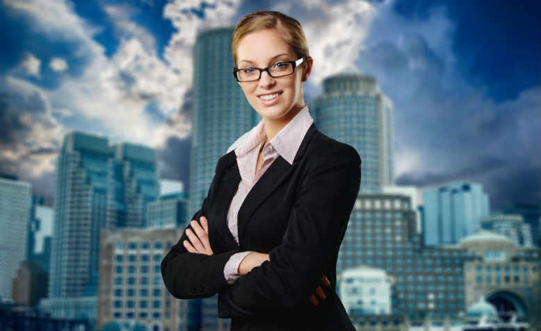 New boss same as the old boss: one of today's modern businesswomen. Graphic: Pixabay