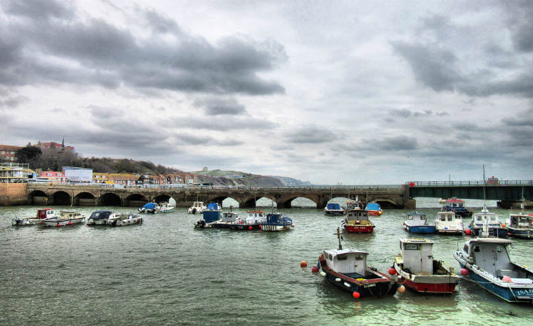 Folkestone harbour, March 2018. Photo: Kate Russell via Flickr