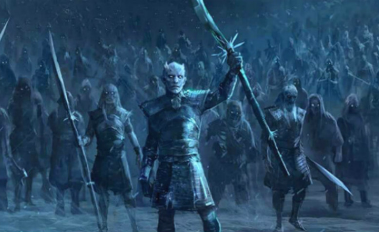 Game of Thrones Night King army. Photo: WhatCulture
