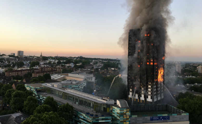 Grenfell Tower fire, 14 June 2017