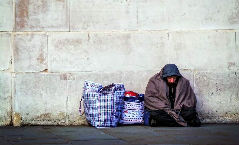 Homelessness in the UK. Photo: Flickr/Garry Knight