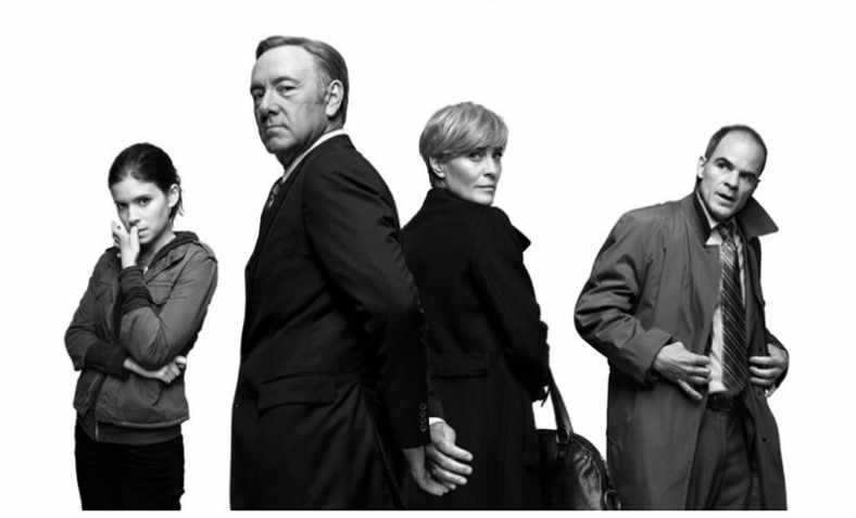 US television series House of Cards originally authored by the Tory Michael Dobbs, now Lords Dobbs. Photo: Netflix
