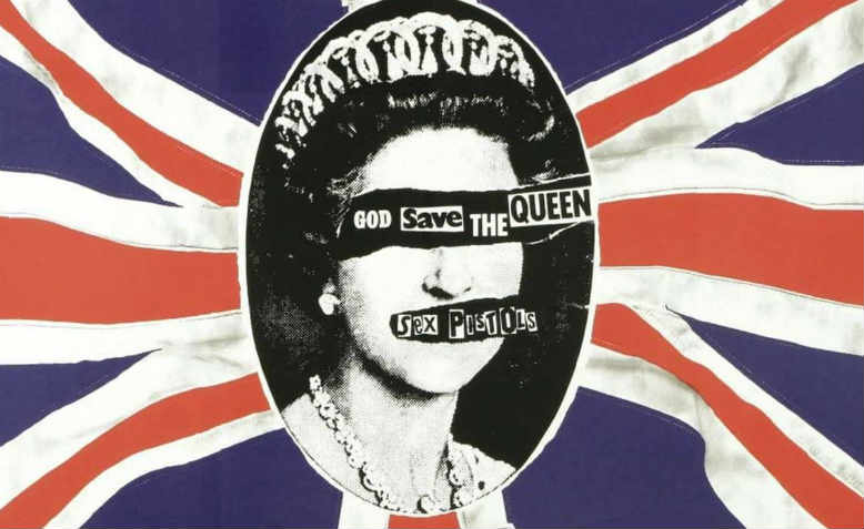 God Save the Queen by Jamie Reid (1977)