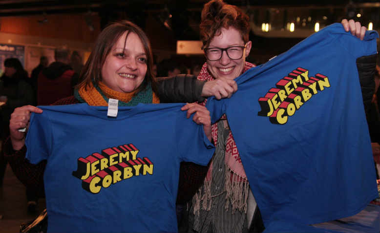 Jeremy Corbyn merchandise on sale. Photo: Facebook/Tanya Hazell