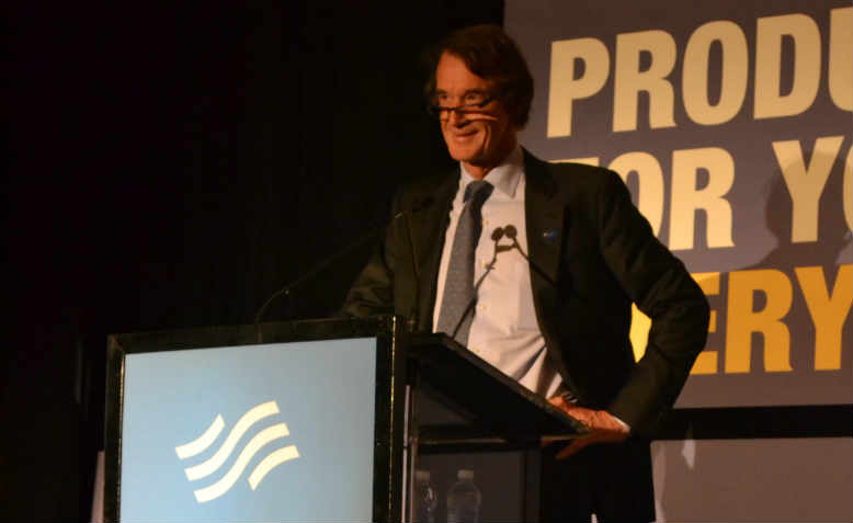 Jim Ratcliffe, the UK's richest CEO, worth £20 billion. Photo: Wikimedia/Mary Mark Ockerbloom