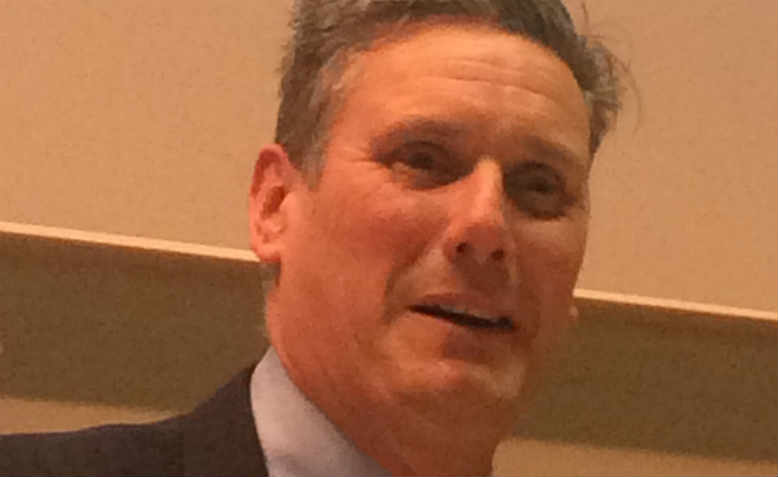 Sir Keir Starmer at Kings College, London in 2016