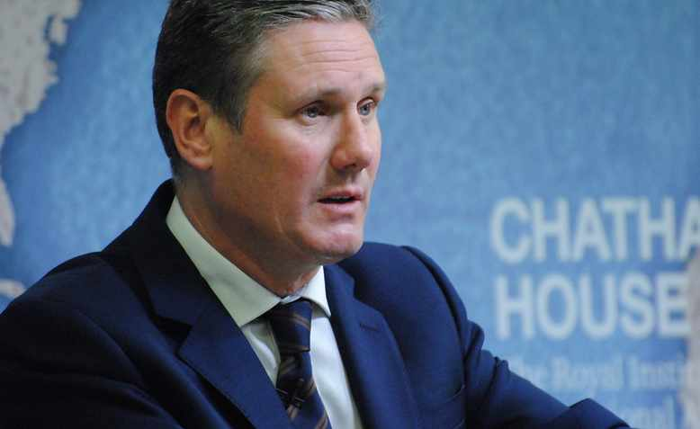 Sir Keir Starmer at Chatham House in 2017