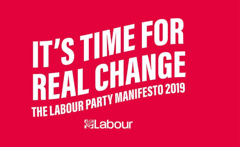 The 2019 Labour manifesto