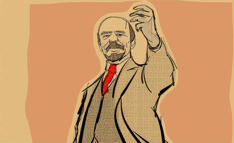 Lenin by Hafteh7 (detail), 2017. Graphic: Pixabay