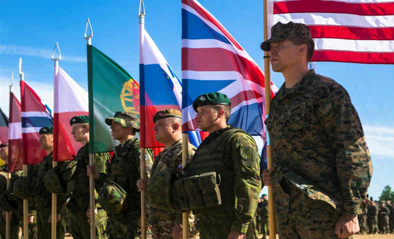 Nato Military Forces Photo: Paul Peterson