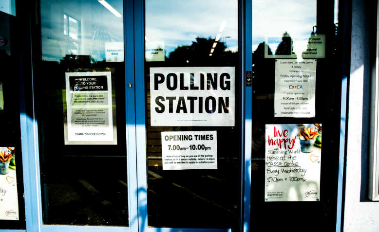 A polling station in Ludlow. Photo: Pixabay/Pexels