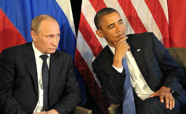 Meeting with Vladimir Putin and Barack Obama, Los Cabos, Mexico, 2012