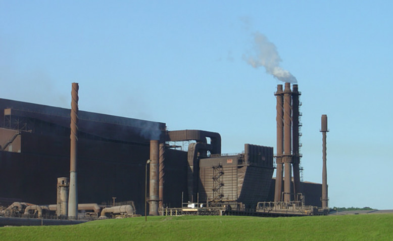 Scunthorpe Steelworks. Photo: Wikimedia Commons