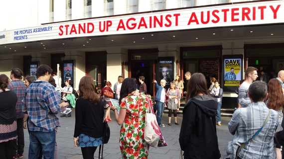 Stand up against Austerity