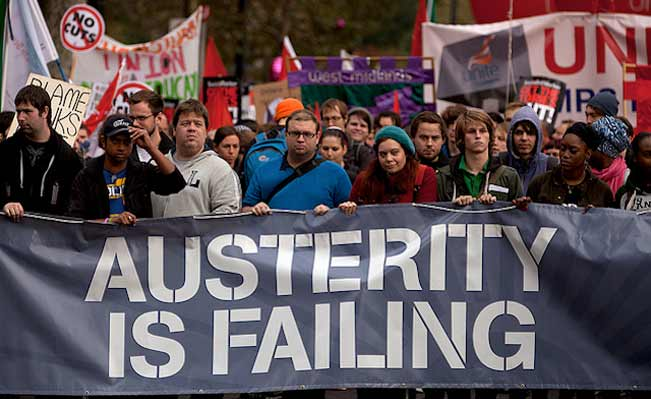 October's TUC protest against austerity. Photo: with kind permission of Mark Kerrison