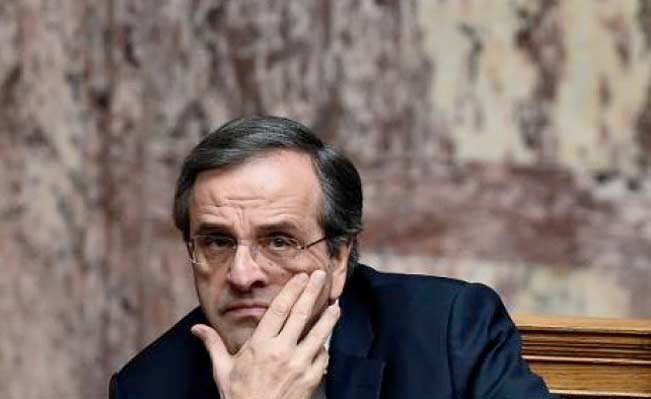 Greek Prime Minister Antonis Samaras. Photo: AP