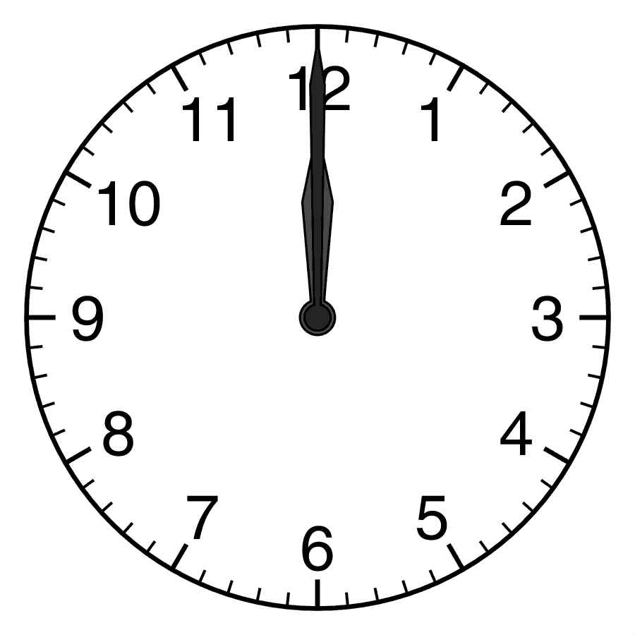 analogue clock