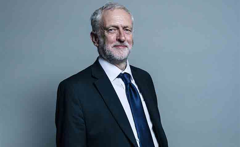 Leader of the opposition, Jeremy Corbyn. Photo: Wikipedia