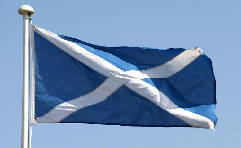 The saltire. Photo: Pixabay
