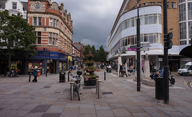 The town centre in Doncaster, South Yorkshire, where 69% voted out. Photo: Wikipedia