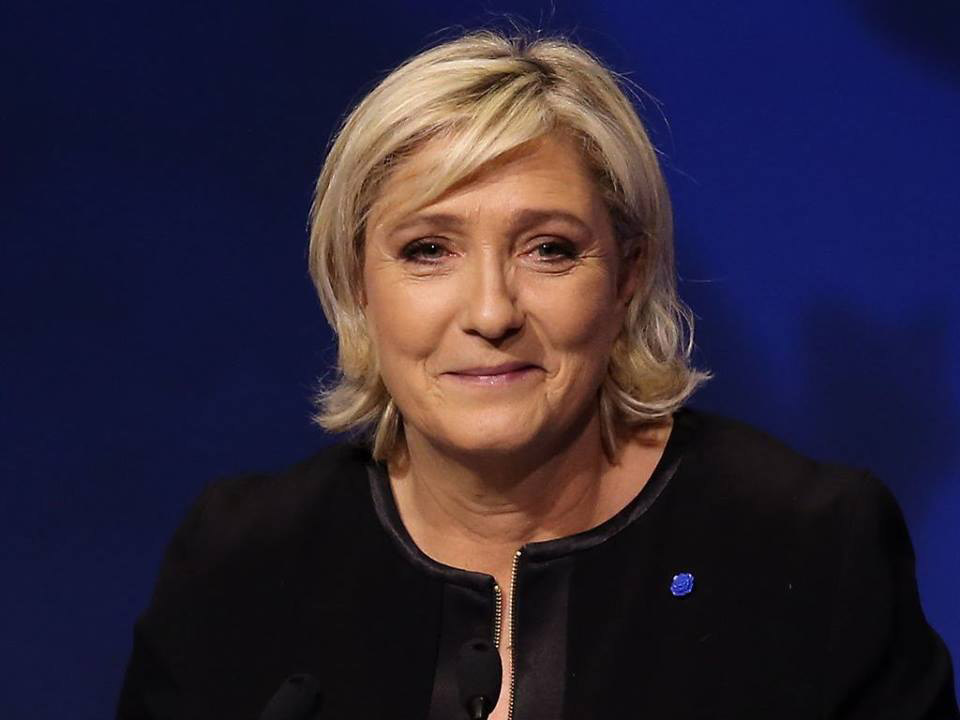 Marine Le Pen. Photo: Wikipedia