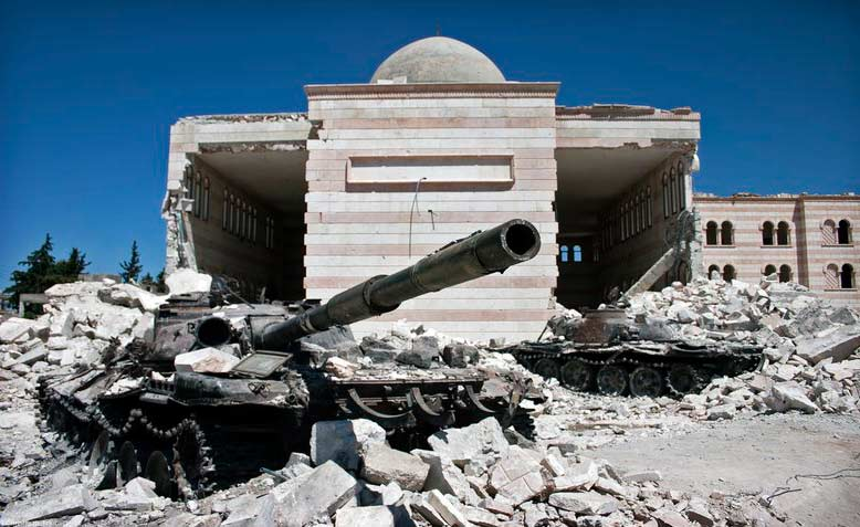 years of brutal war have left Syria in ruins