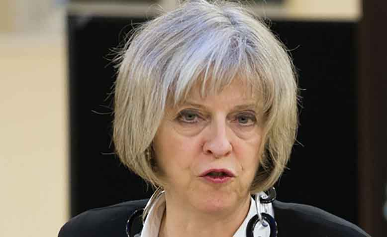 Prime Minister Theresa May. Photo: Flickr / UK Home Office