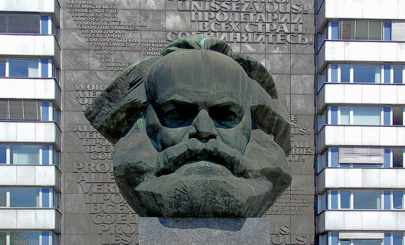 The Karl Marx monument at Chemnitz. Photo: Pixabay