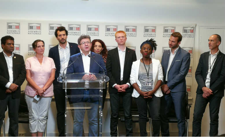 Members of France Insoumise in the National Assembly, 2017. Photo: Wikimedia Commons