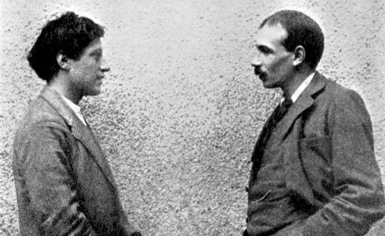 John Maynard Keynes with fellow member of the Bloomsbury Group Duncan Grant. Photo: Wikipedia