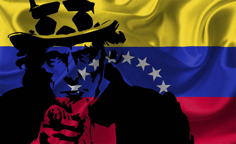 Venezuela and US imperialism. Photo: Shabbir Lakha