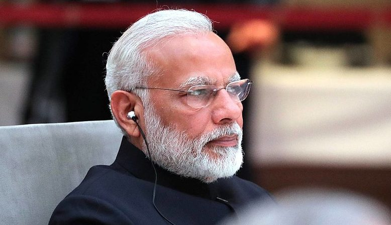 Prime minister of India, Narendra Modi. Source: Wikipedia