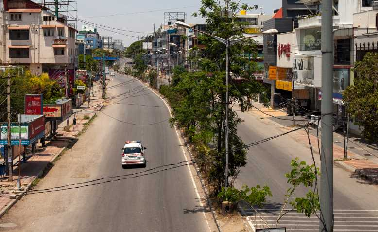 Empty streets of Bangalore during the lockdown. Photo: Flickr/Nicolas Mirguet