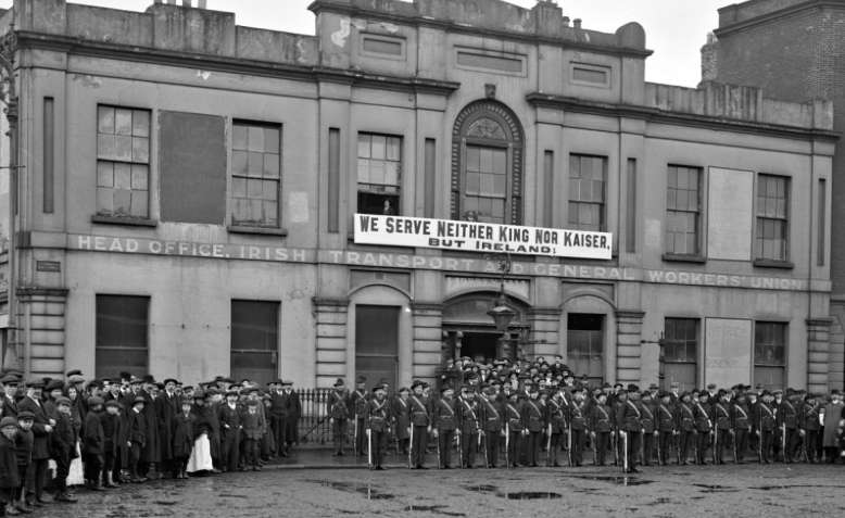 Irish Citizen Army, 1914. Photo: Public Domain