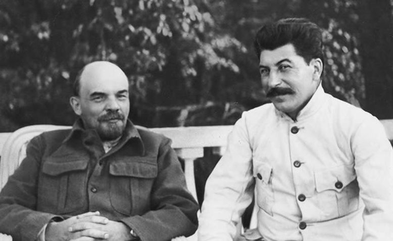 Lenin and Stalin, 1922. Photo: Public Domain