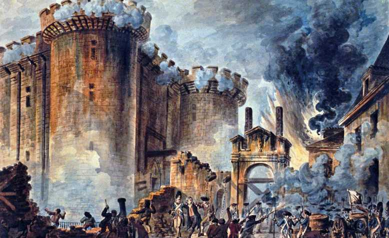 Storming of the Bastille, 1789. Photo: Public Domain
