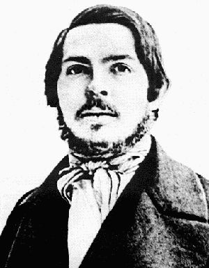 Young Frederick Engels - Manchester textile executive and internatonal revolutionary