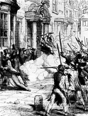 The Newport rising of Chartist miners in 1839