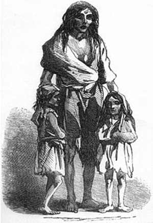 Irish Famine victims