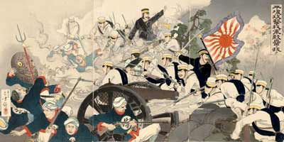 The First Sino-Japanese War, 1894-1895.