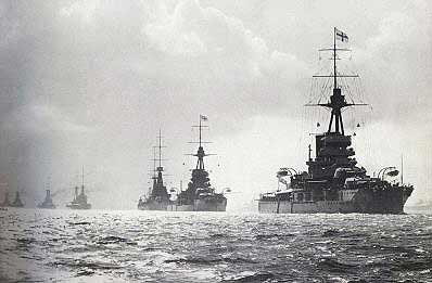 My fleet's bigger than yours - the Anglo-German naval arms race was a countdown to war